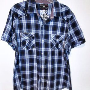 Pop Icon for Buckle Men's Button Down Shirt XL